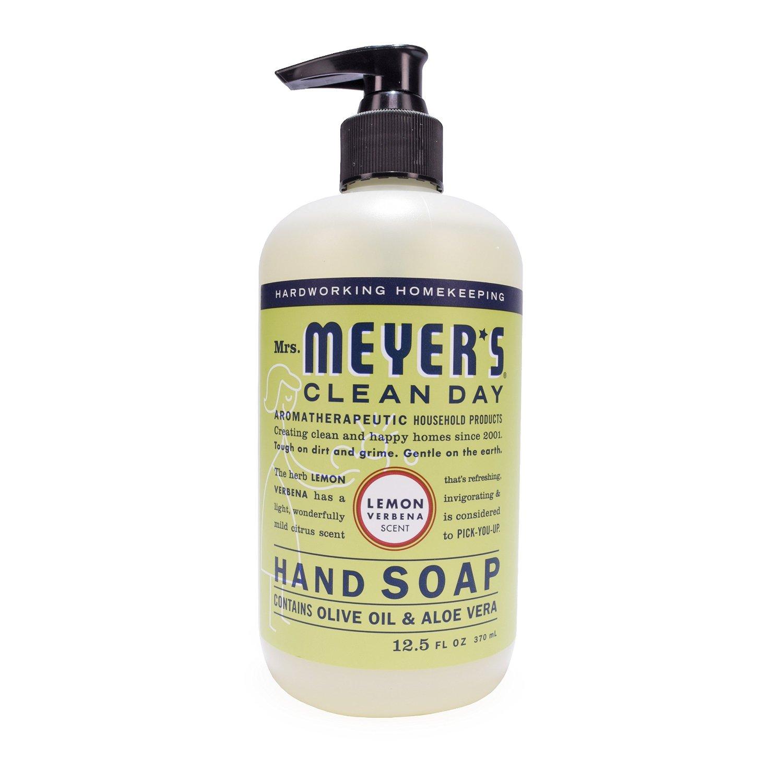 Mrs. Meyer's Clean Day Hand Soap Lemon Verbena - 12.5 Fluid Ounces (Pack of 3) - $7.40 AC & S&S ($6.42 AC & 5 S&S Orders) - Amazon