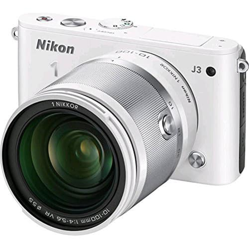Nikon 1 J3 14.2MP Mirrorless Digital Camera w/ 10-100mm VR Lens (refurbished) for $299 with free shipping