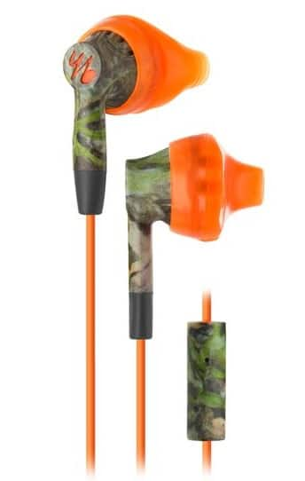 Yurbuds by JBL Inspire 300 Mossy Oak Orange Sport Earphones $10 AC + Free Shipping!