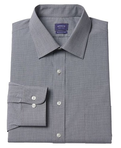 Men's Arrow Classic Fit Collar Dress Shirt: 3 for $28, 2 for  $21.75