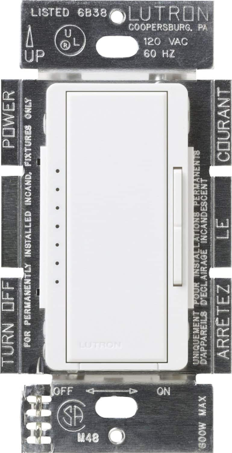 Lutron Maestro Dimmer Switch CFL/LED compatible $21 when buying 2 or more
