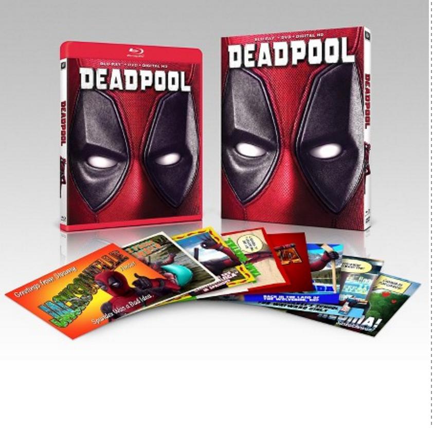 Deadpool: Target Exclusive (Blu-Ray/DVD/Digital HD)  $20 or Less + Free In-Store Pickup