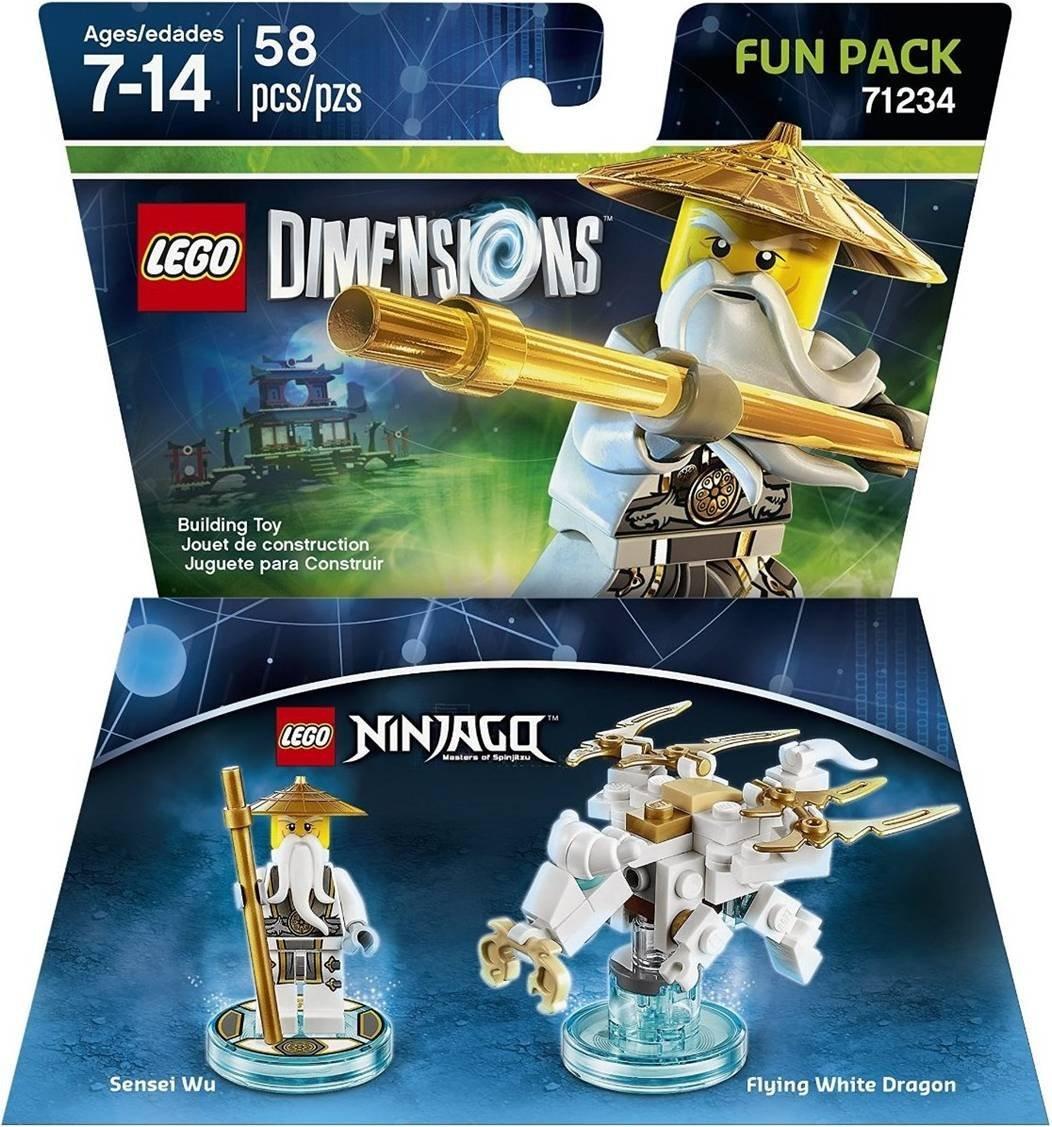 Prime Members: LEGO Dimensions: Ninjago Sensei Wu Fun Pack  $6