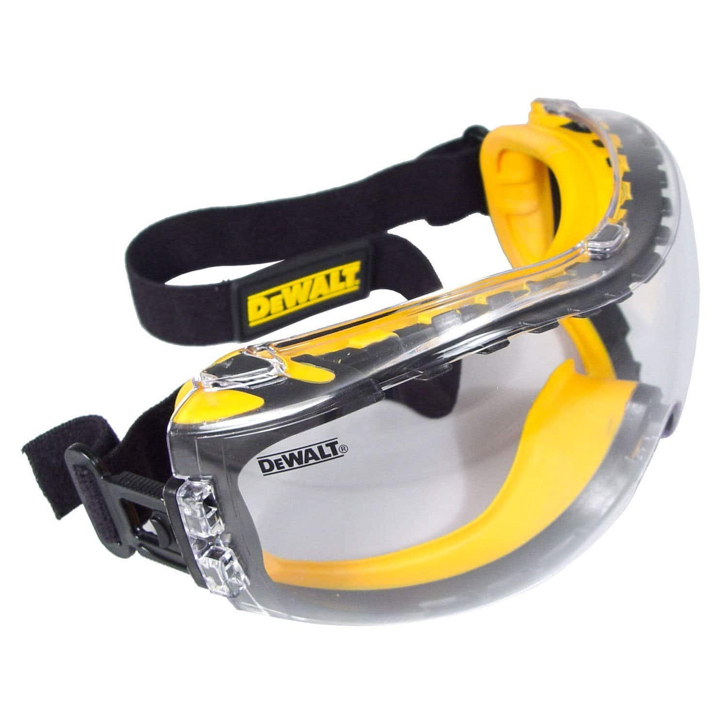 DEWALT Concealer Clear Anti-Fog Dual Mold Safety Goggle - $9.04 - AMAZON