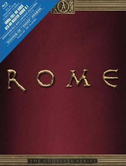 Rome: The Complete Series (10-Disc Blu-ray) $31.99 + Free Store Pickup