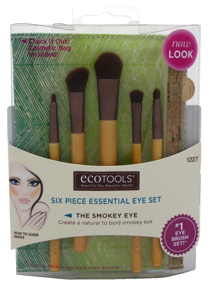6-Piece EcoTools Essential Makeup Brush Eye Set  $2.25 + Free S/H