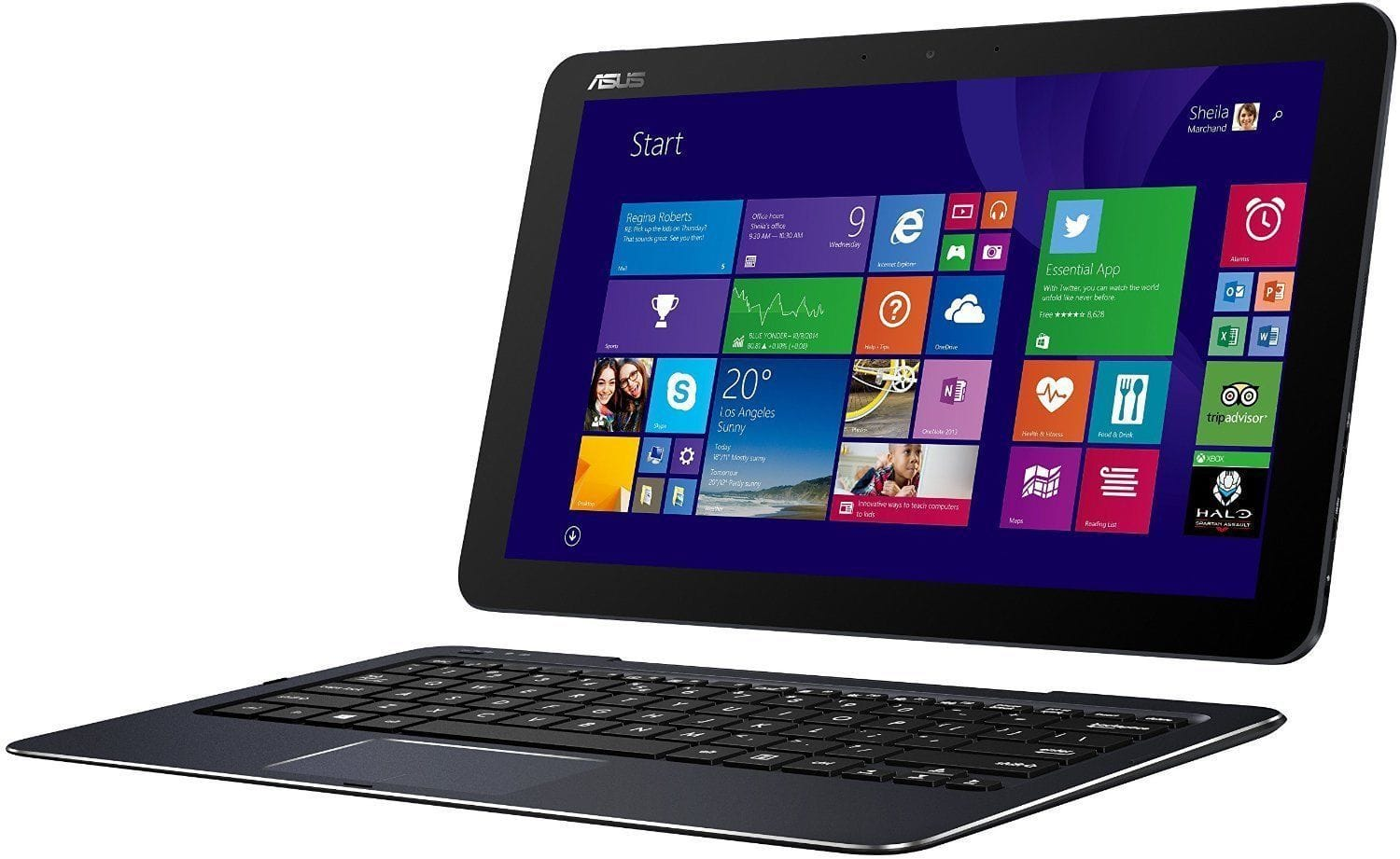 "ASUS T300CHI 12.5"" Touch Transformer 2-in-1 M5Y10 4GB 128GB Win8.1 (Manufacturer Refurbished) for $345 Shipped! *Price Drop*"