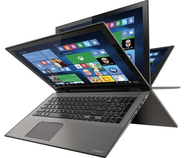 Toshiba Satellite Radius 4K Laptop: i7 6500U, 12GB RAM, 1TB  $550 + Free S/H