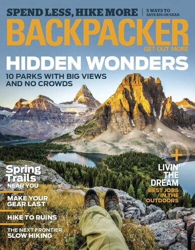 1 Year Magazine Subscription to Backpacker ($4.99), Outside ($4.99), or Climbing ($5.99)