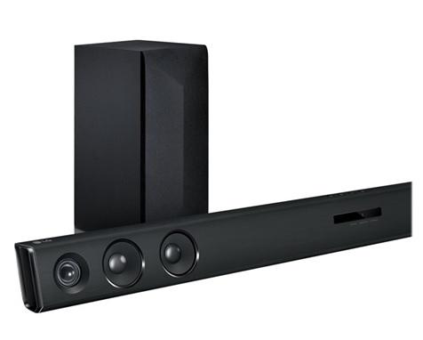 LG LAS454B 300W Bluetooth Sound Bar + $50 Dell eGift Card  $150 + Free S/H