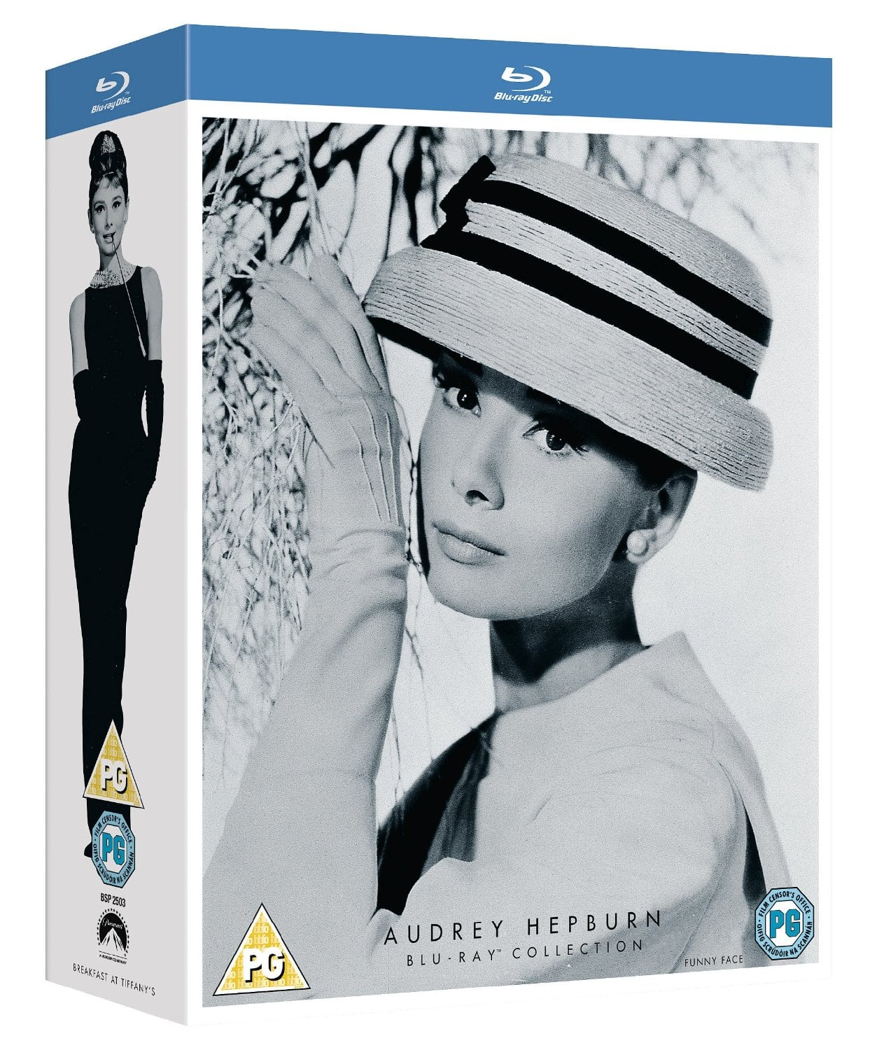 Audrey Hepburn Collection (Region Free Blu-ray)  $12.50