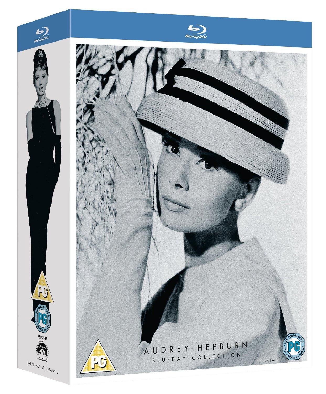 Audrey Hepburn Collection (Region Free Blu-ray)  $12.50