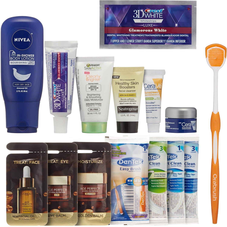 Prime Members: Women's Skin/Oral Beauty Sample Box + $15 Credit  $15 + Free S/H