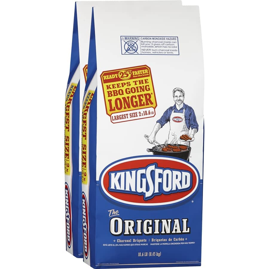 Kingsford 2-Pack 18.6-lb (37.2-lb Total) Charcoal Briquettes $9.88 w/pick up  ~ Lowes/Home Depot