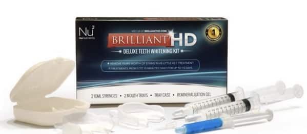 Brilliant HD - Deluxe Teeth Whitening Kit for 14.99 + 2.95 shipping