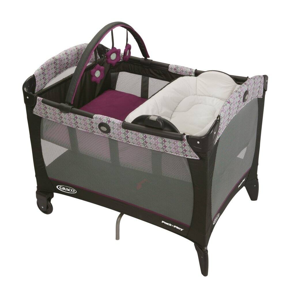 Graco Pack 'N Play Playard with Reversible Napper and Changer, Nyssa $67.99 FS [Amazon]