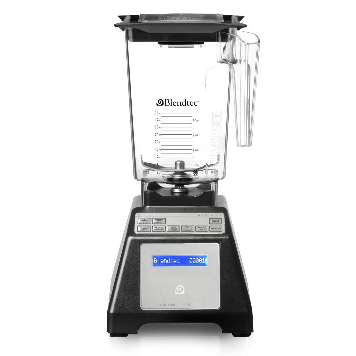 Blendtec Total Blender w/ WildSide Jar (Refurb) w/ Full 7-Year Manufacturer Warranty $190 + Free Shipping