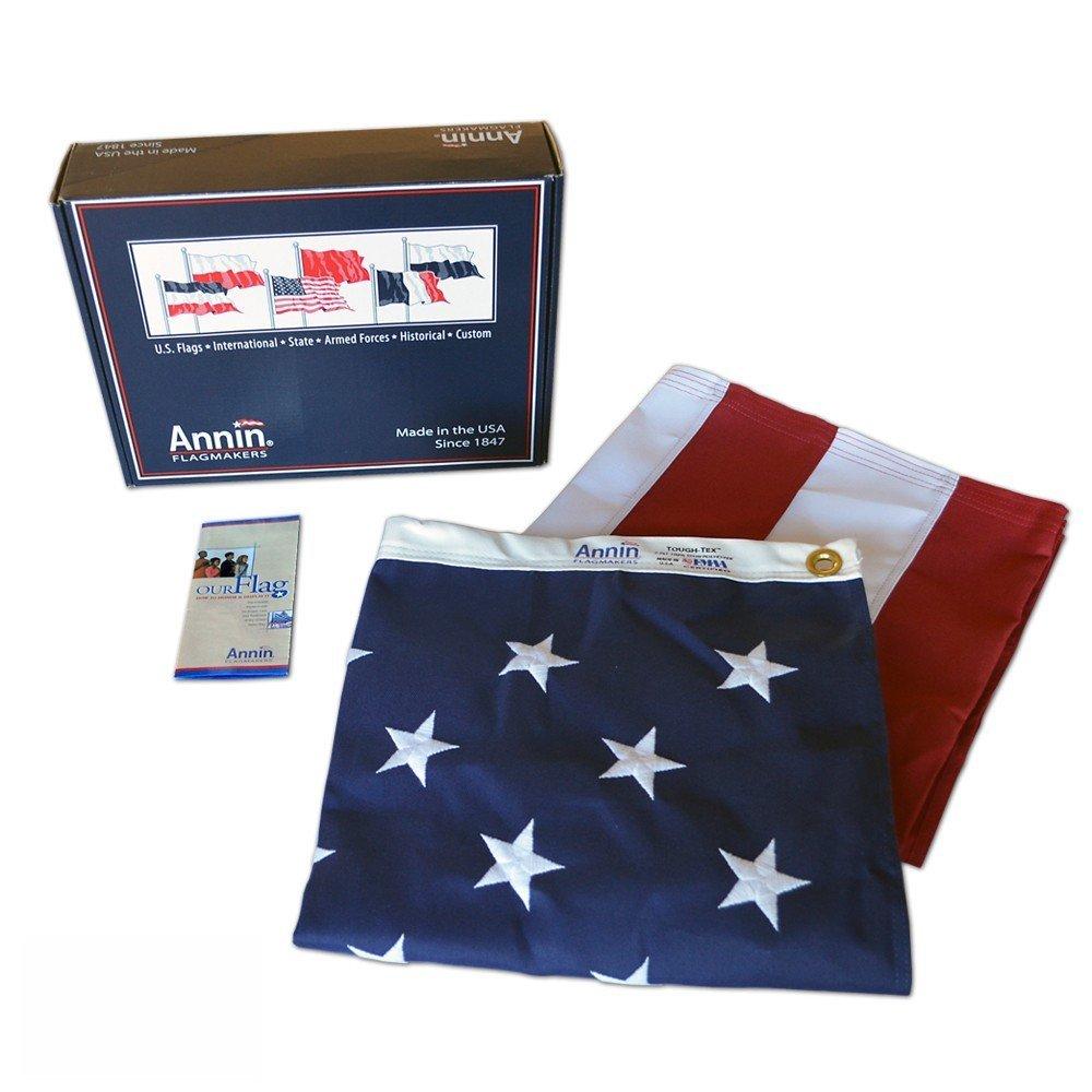 American Flag Annin ToughTex 3'x5' - $7.99 w/ Free Prime Shipping