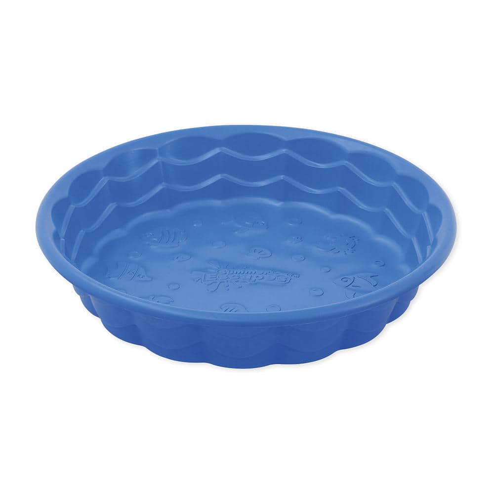 "Sizzlin' Cool 36"" Wading/Kiddie Outdoor Pool (Blue, Light/Dark Pink) $5 + Free In-Store Pickup *Great for Summer*"
