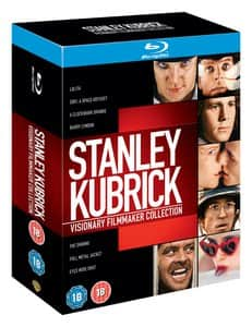 Stanley Kubrick: Visionary Filmmaker Collection (Blu-ray) $28 Shipped