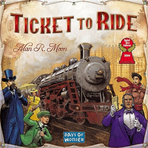 Ticket to Ride Strategy Board Game  $27.60