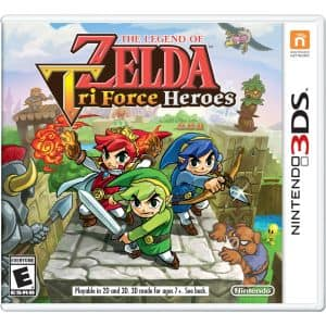 The Legend of Zelda: TriForce Heroes (Nintendo 3DS)  $20 + Free Store Pickup