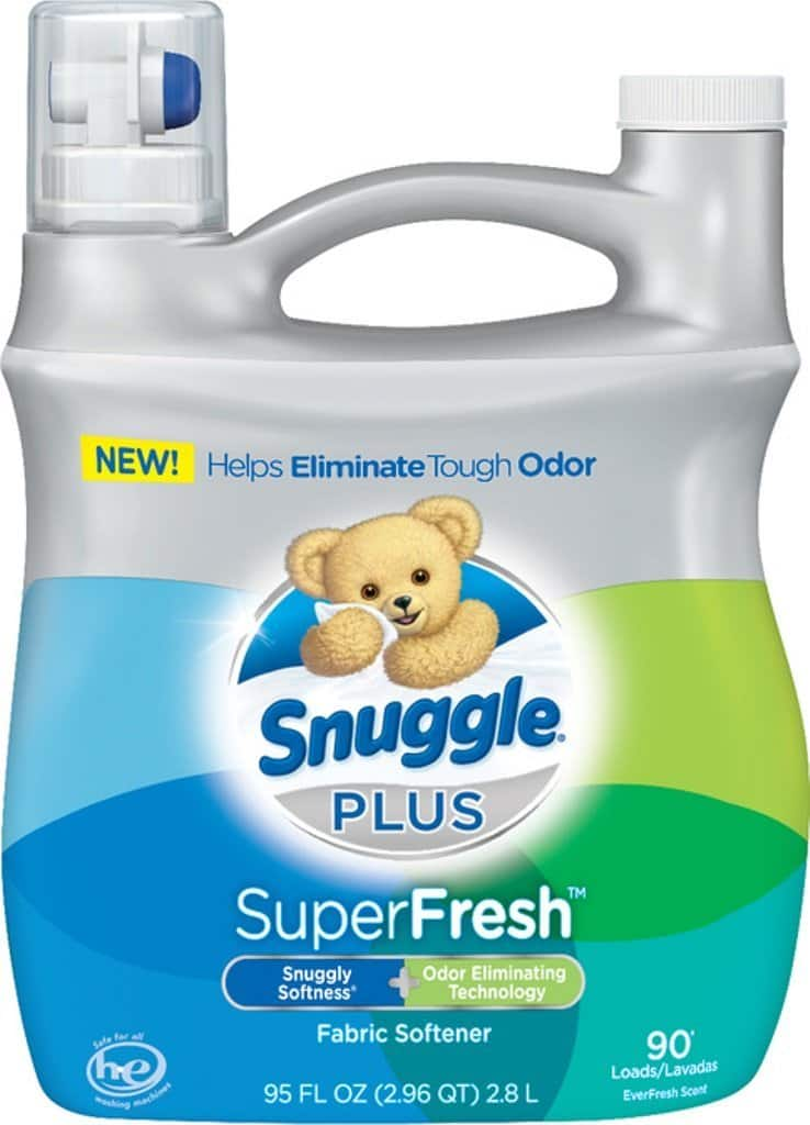 $6.59+tax or lower, Snuggle Plus Super Fresh Fabric Softener Liquid with Odor Eliminating Technology, 95 Fluid Ounce Amazon subscribe & save s&s +$1 off coupon