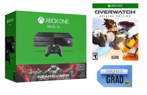 Best Buy DOTD: $75 Gift Card + Free Game with Select Xbox One Consoles