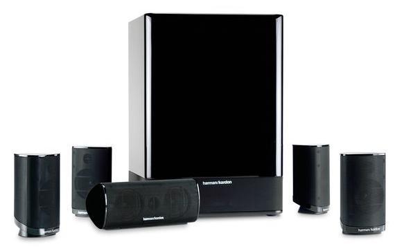 Harman Kardon HKTS 15 5.1-Channel Home Theater Speaker System $155 AC + Free Shipping!