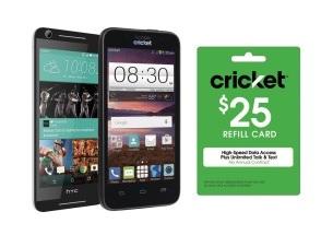 Cricket Wireless LG Risio Prepaid Phone + $25 Refill + $25 BB GC = $45 + Free S/H