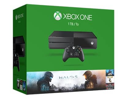 1TB Xbox One Spring Console Bundle w/ 5 Games + Extra Controller  $299 + Free S/H