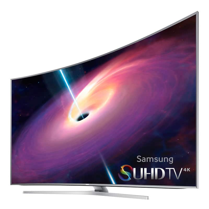 """55"""" Samsung UN55JS9000 Curved 4K 3D SUHD Smart LED HDTV  $1199 + Free Shipping"""