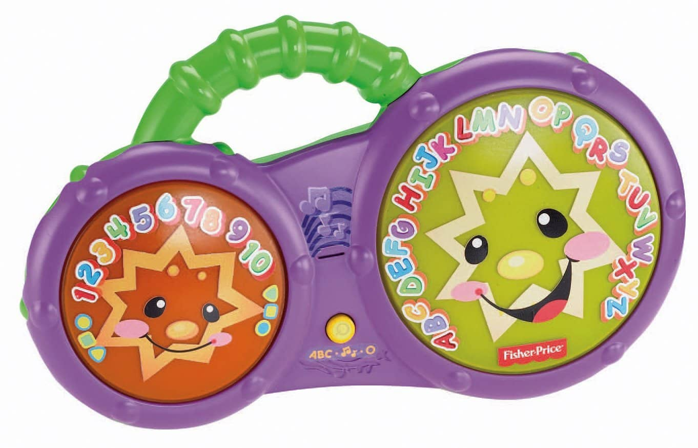 Fisher-Price Laugh & Learn Bathtime Bongos $8.41