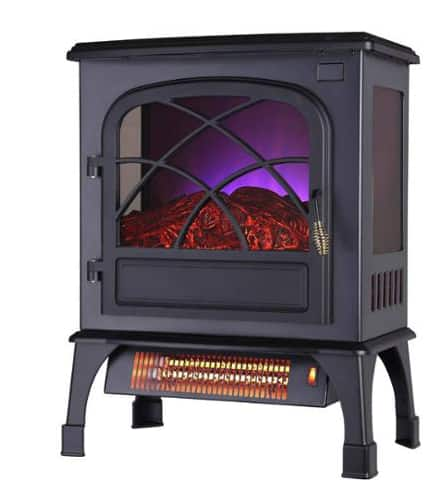 Electric Fireplaces/Stove Clearance: Warm Living Infrared  $59 & More + Free In-Store Pickup