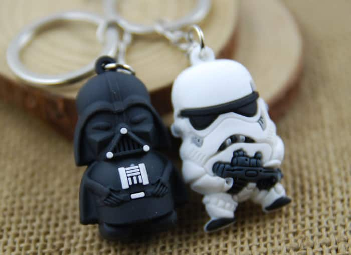 Replica Darth Vader/Storm Trooper Soldier Key Ring  $0.80 + Free S/H