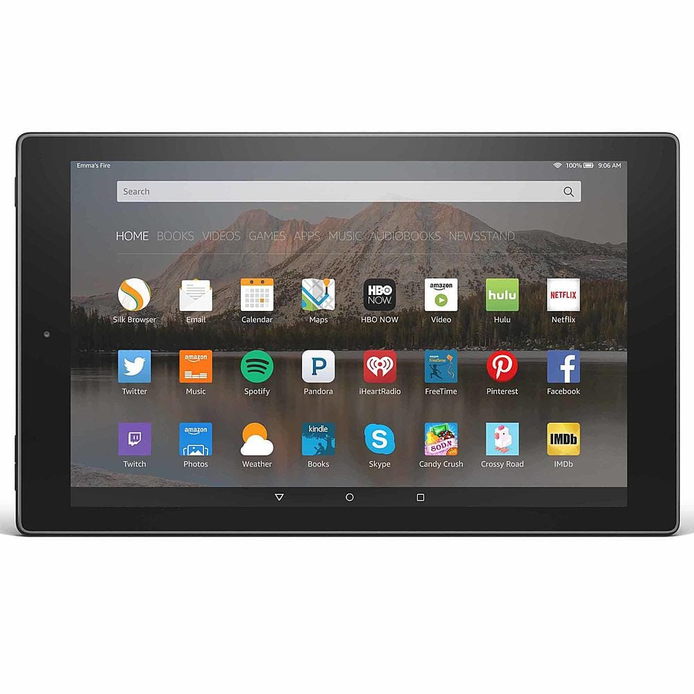 Amazon Fire HD 10 16GB Tablet - Black:  $180 @ Sears + up to $122.80 back in points