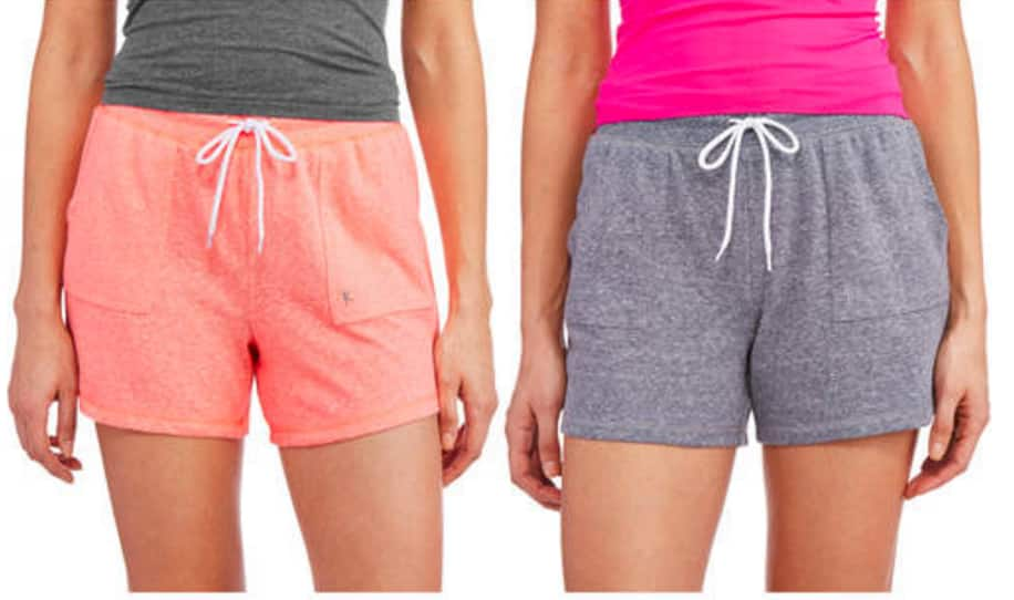 2-Pack Danskin Now Women's Basic Knit Gym Shorts (Various Colors) $6.50 + Free Store Pickup @ Walmart