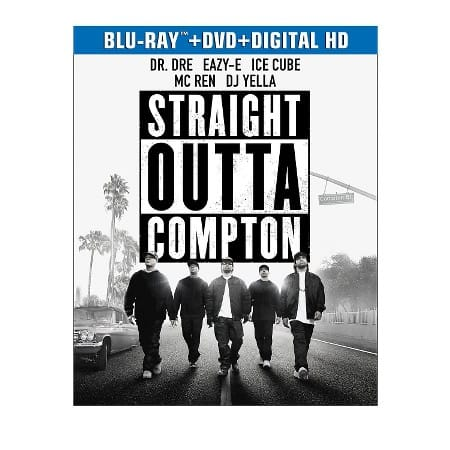 Blu-ray/DVD/Digital HD Movies: Straight Outta Compton, Sicario  $10 & More + Free In-Store Pickup