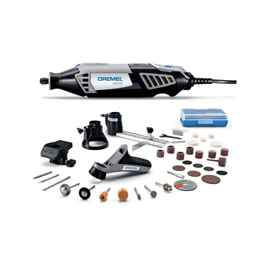Dremel 4000 Series 4/34 Rotary Tool Kit w/ 39-Piece Attachment  $59 + Free Store Pickup