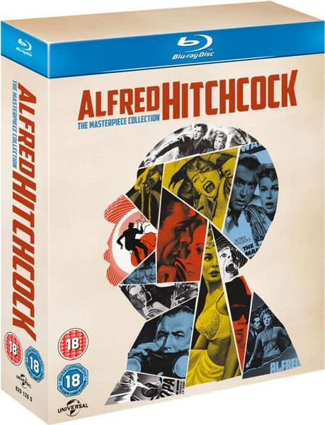 Alfred Hitchcock: The Masterpiece Collection (Blu-ray) $33.40 Shipped