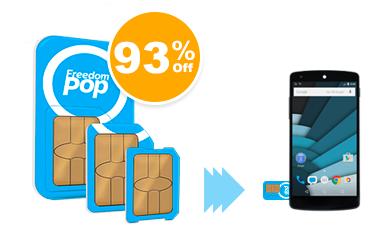 Global 3-in-1 SIM Kit + Free Mobile Service - $3.99 @Freedompop
