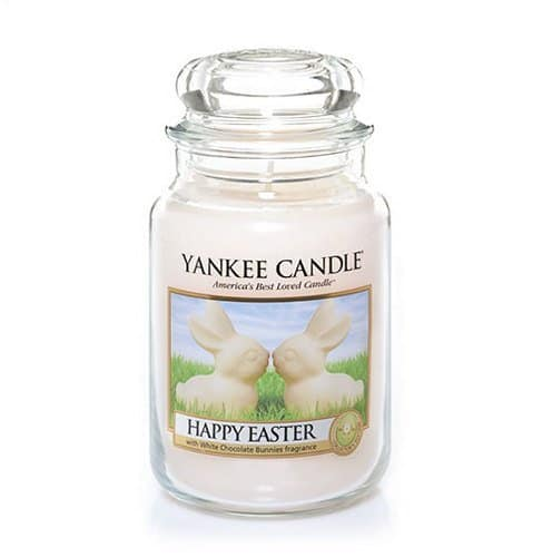 Yankee Candle Happy Easter Large Jar Candle  $7 Shipped Prime Not Needed