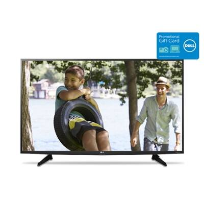 "49"" LG 49UH6100 4K UHD Smart LED HDTV + $200 Dell eGift Card $599.99 + Free Shipping"