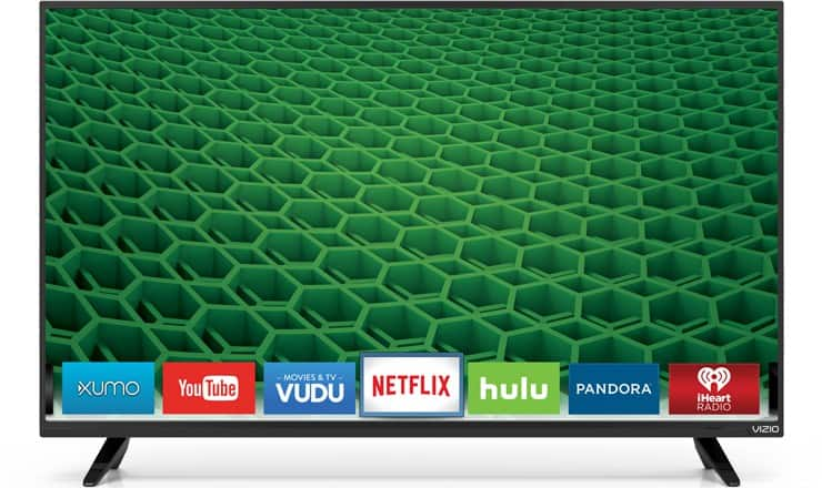 "39"" VIZIO D39H-D0 720p Smart LED HDTV + $100 Dell eGift Card $239.99 + Free Shipping"