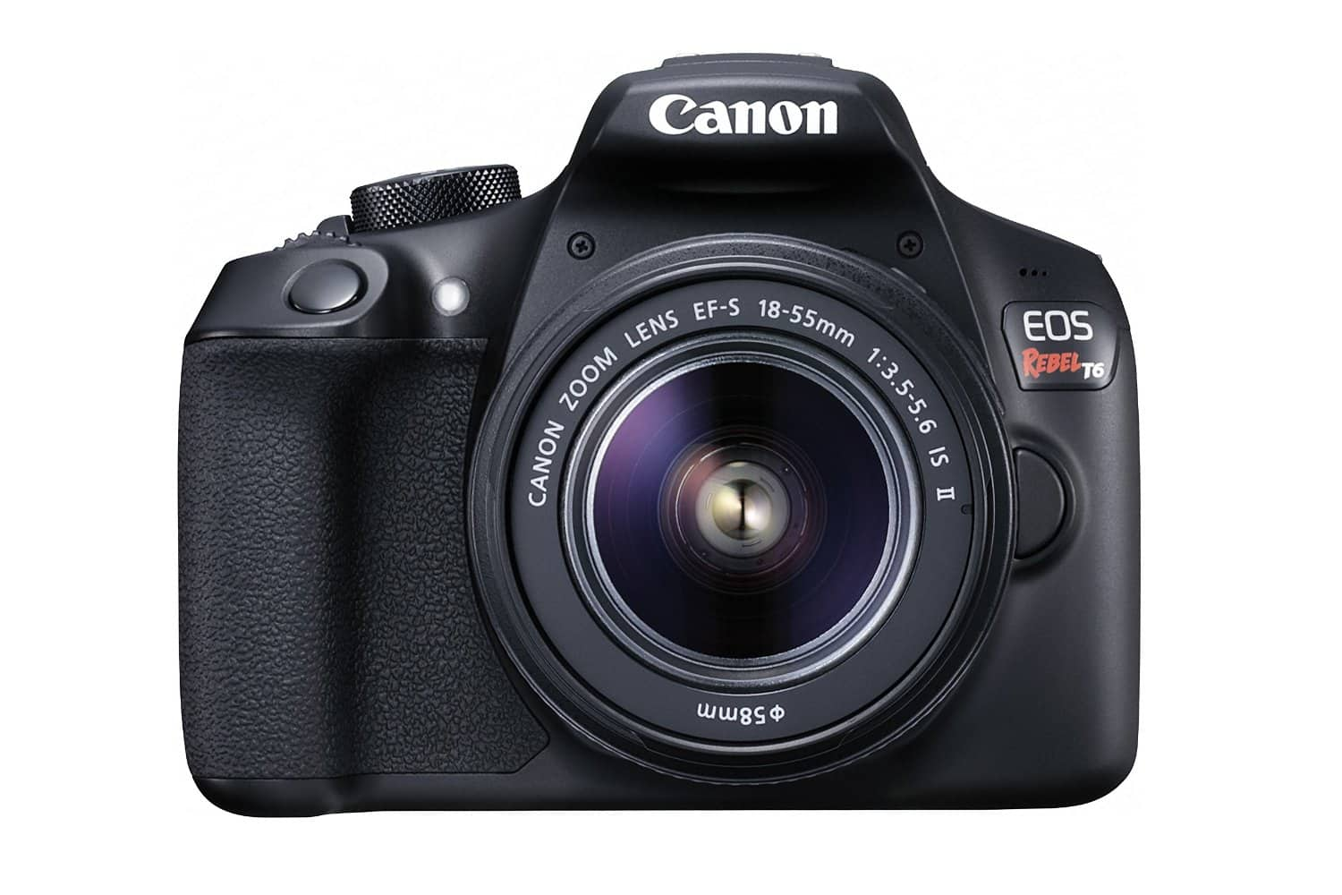 Amazon.com Rewards Visa Card !!! Canon EOS Rebel T6 Digital SLR Camera Kit with EF-S 18-55mm f/3.5-5.6 IS II Lens (Black) $399.00 fs @ amazon