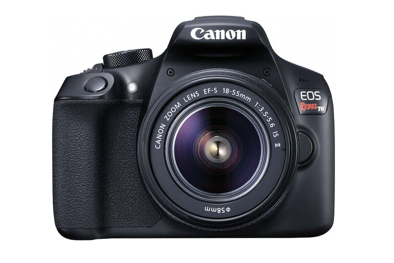Amazon.com Rewards Visa Card !!! Canon EOS Rebel T6 Digital SLR Camera Kit with EF-S 18-55mm f/3.5-5.6 IS II Lens (Black) $399.00 fs @ amazon
