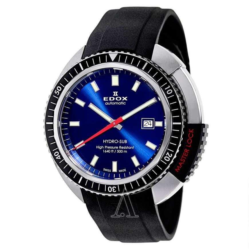 Edox Hydro-Sub 500M wr Automatic Divers Watch $459 + free shipping