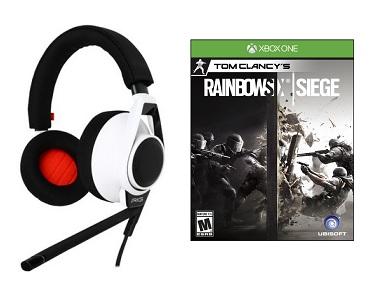 Plantronics Rig Flex 3.5mm Gaming Headset w/ Boom Mic & In-Line Mic (PS4 & Xbox One) + Tom Clancy's Rainbow Six Siege (Xbox One) for $32.00 AC + Free Shipping @ Newegg.com