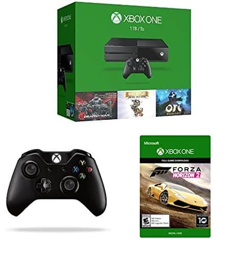 Xbox One 1TB Console w/ 2 controllers + 2 Games + 2 digital codes: $299 + FS @ Amazon