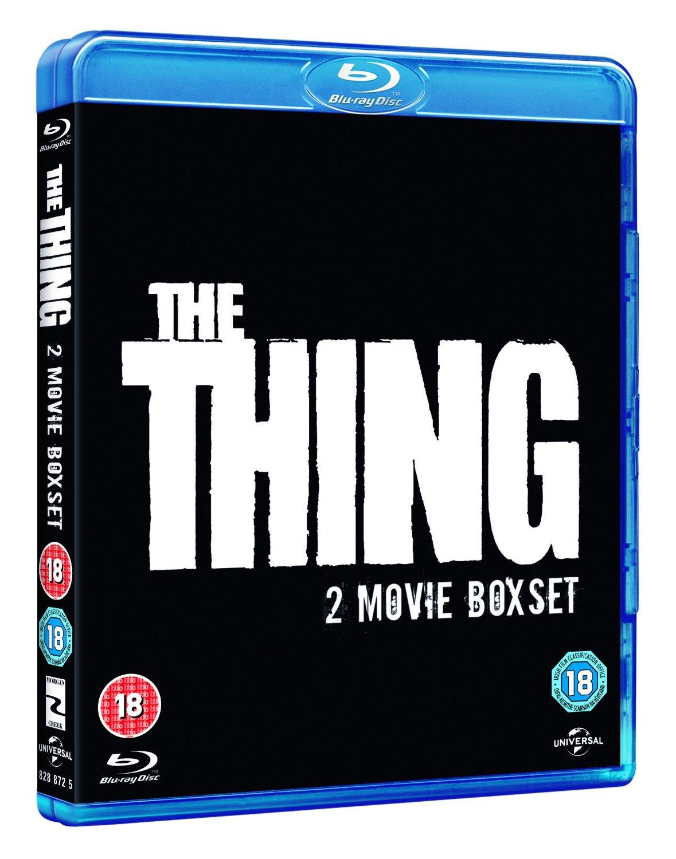John Carpenter's The Thing (1982) + The Thing (2011) Pack (Region Free Blu-Ray) $10.27 Shipped